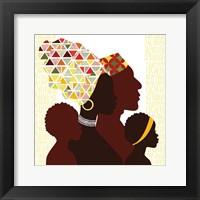 Framed African Family
