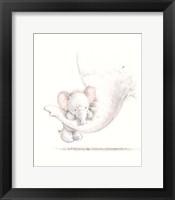 Framed Baby Elephant II