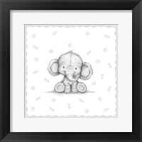 Framed Baby Elephant IV