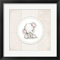Framed Baby Elephant V