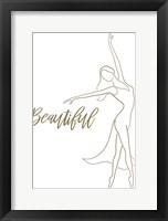 Framed Beautiful Figurative