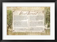 Framed Church Covenant