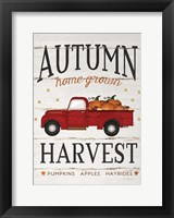 Framed Autumn Harvest