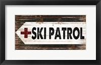 Framed Ski Patrol