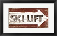 Framed Ski Lift