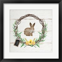 Framed Spring Wreath II