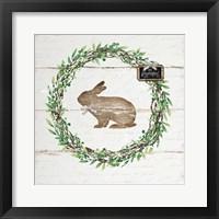Framed Spring Wreath III