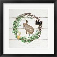 Framed Spring Wreath IV
