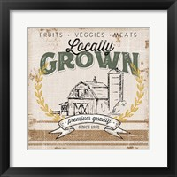Framed Locally Grown
