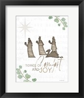 Framed Tidings of Comfort and Joy