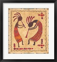 Framed Kokopelli