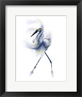 Framed Dancing Crane