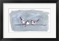 Framed Birds on a Wire I