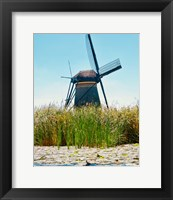 Framed Windmill I