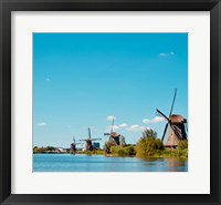 Framed Windmill IV