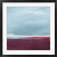 Framed Cranberry Landscape II