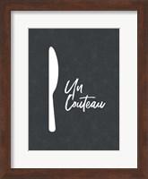 Framed French Knife