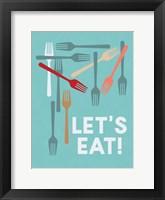 Framed Let's Eat!