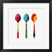 Framed Wild Spoons