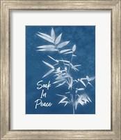 Framed Soak in Peace