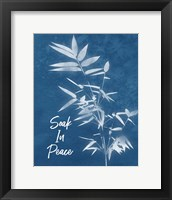 Framed Soak in Peace