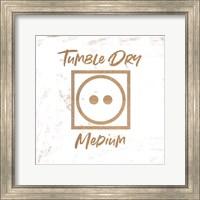 Framed Tumble Dry - Medium