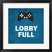 Lobby Full Framed Print