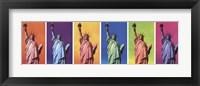 Framed Pop Art Liberty