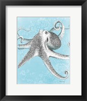 Framed Coastal Sea Life II v2