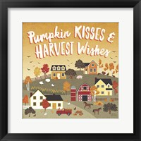 Framed Harvest Village IV