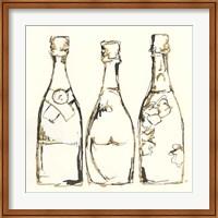 Framed Champagne is Grand III