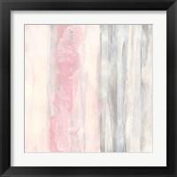 Framed Whitewashed Blush II