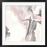 Framed Blushing Grey II