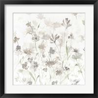 Framed Garden Shadows IV on White v2