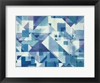 Framed Try Angles I Blue