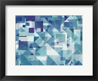 Framed Try Angles II Blue