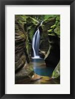 Framed Corkscrew Falls Ohio