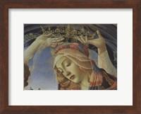Framed Madonna of the Magnificat (detail)