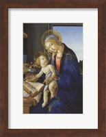 Framed Madonna of the Book, 1480