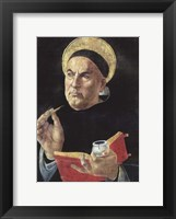 Framed St. Thomas Aquinas
