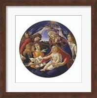 Framed Madonna of the Magnificat