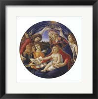 Framed Madonna of the Magnificat