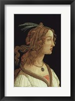 Framed Portrait of a Young Woman, 1485