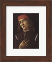 Framed Portrait of Youth