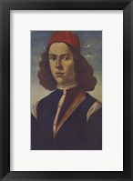 Framed Portrait of a Young Florentine Nobleman