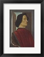 Framed Giuliano De' Medici, C 1478-80
