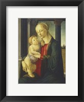 Framed Madonna and Child, 1467