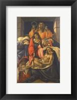 Framed Lamentation Over the Dead Christ