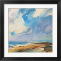 Framed Ochre Sand West Coast