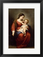 Framed Virgin and Child